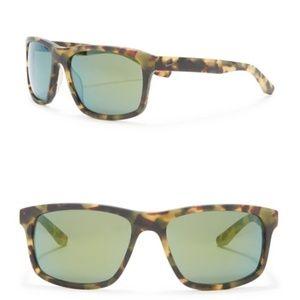 Nike Essential 58mm Square Tortoise Sunglasses